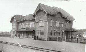 10505 Järnvägsstation från 1906